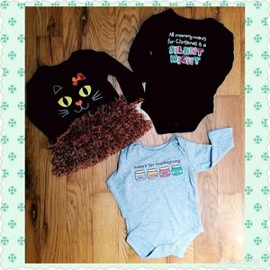 3 Piece Baby Holiday Lot